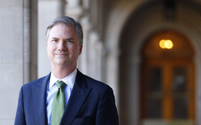 Holden Thorp is named provost of Washington University in St. Louis.