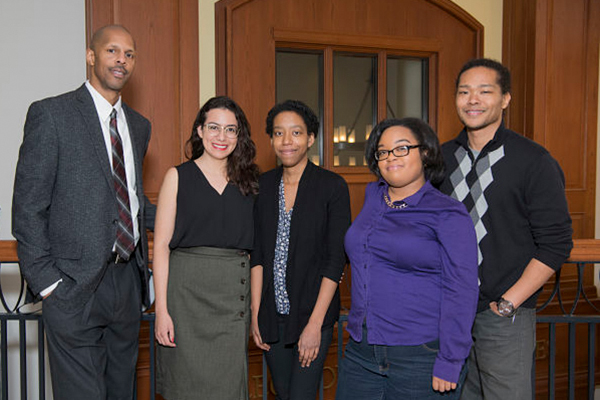 Robert O. Motley Jr., Erika Rodriguez, Elisa Murray, Ninecia Scott and Andrae Banks